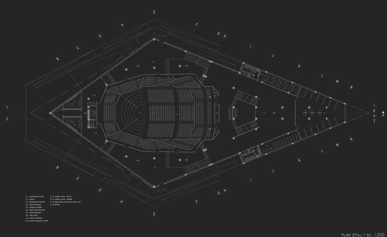architecture , acoustic, philharmonic, constanta , concept, futuristic